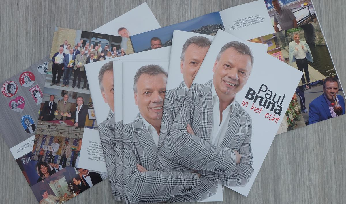 Fotoboek én nieuw muzikaal project 'Paul Bruna Intiem'