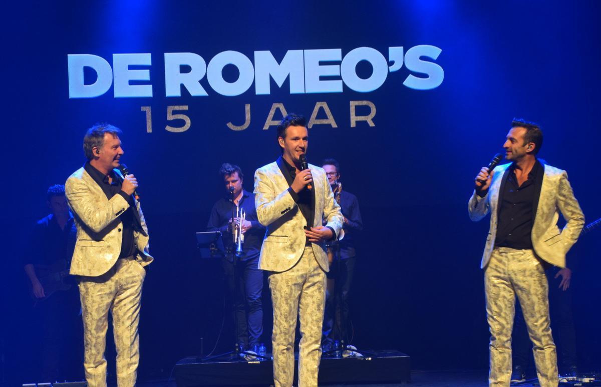 Ook De Romeo's komen langs om het publiek te vermaken.