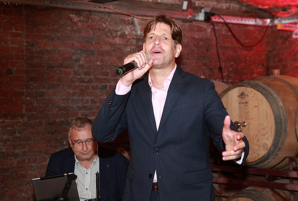 Günter Neefs en Guy De Pré lanceren lp, cd en dvd 'Roots 66' met voorstelling in Brewer's Cave in Antwerpen