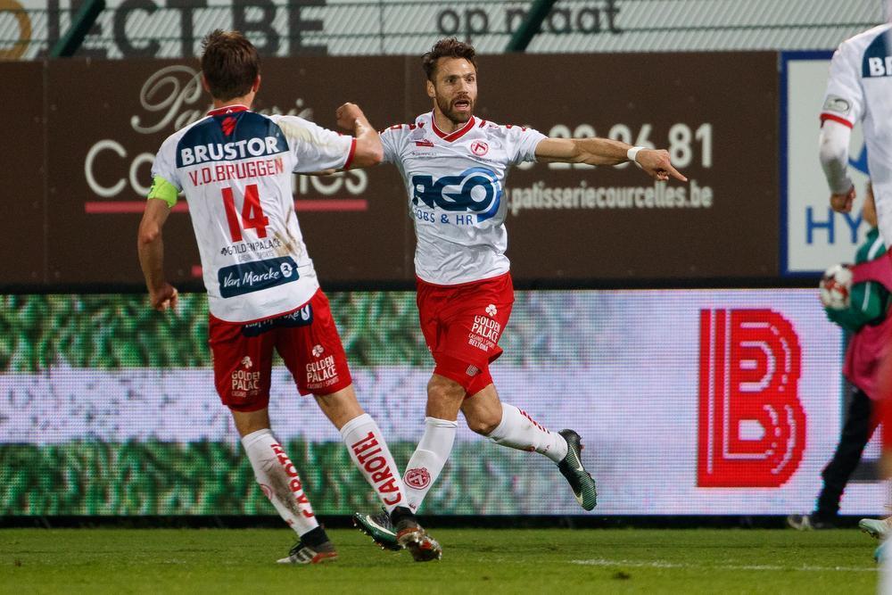 KV Kortrijk kan herademen na ruime zege tegen Sint-Truiden