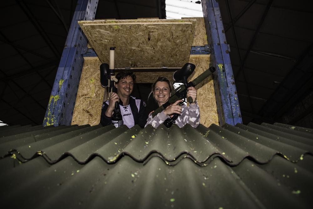 David Desrousseaux en Deborah Vandermeulen openen in september hun paintball.
