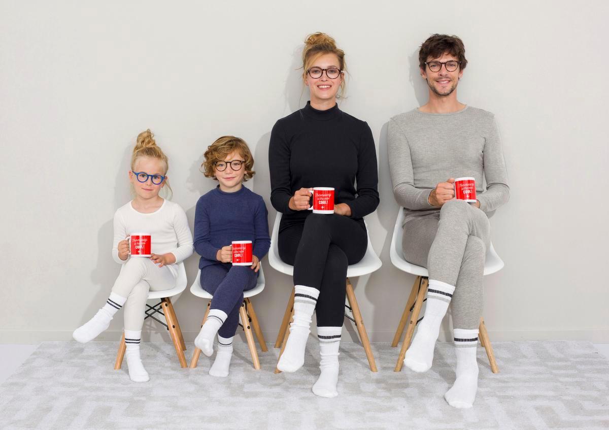 Thermisch ondergoed voor het hele gezin, van Damart.