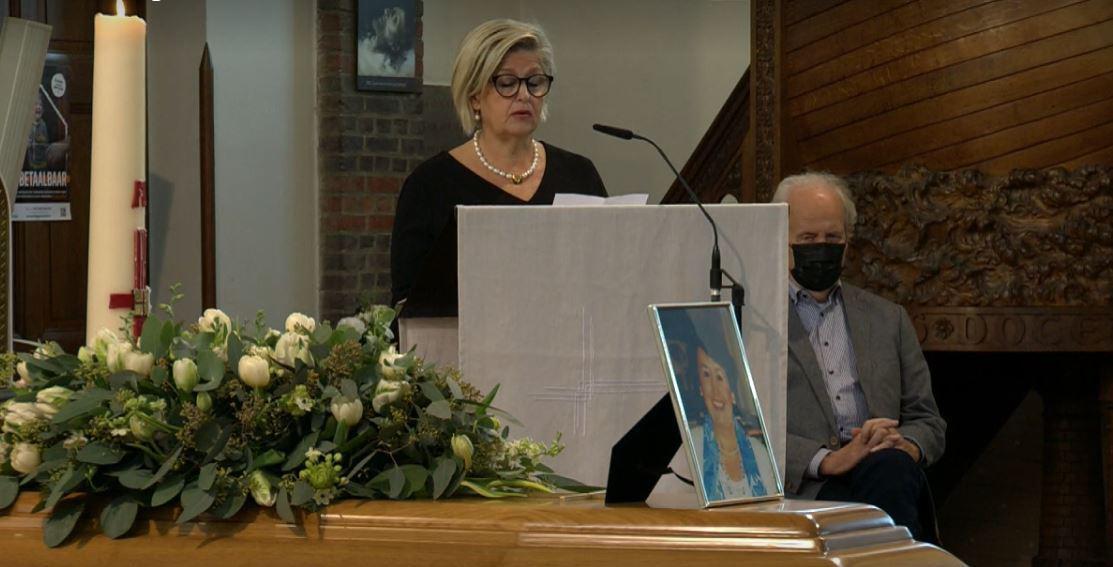 Dochter Martine dankte iedereen voor de hartverwarmende berichten. (GF)