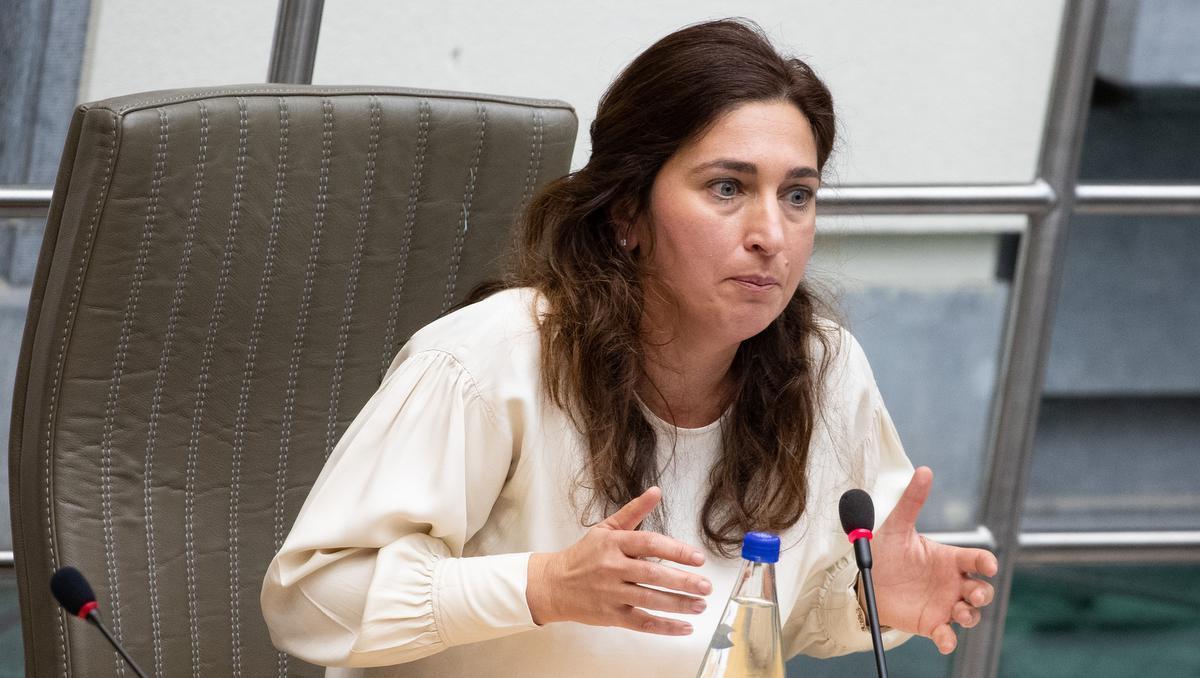 Vlaams minister van Omgeving Zuhal Demir. (foto Belga)