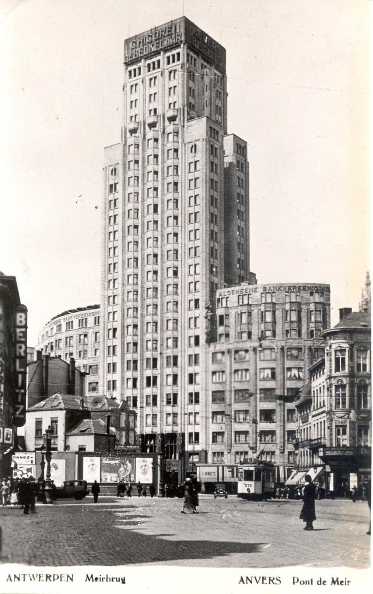 De Boekentoren was bij de opening in 1931 het hoogste torengebouw van Europa. (GF)