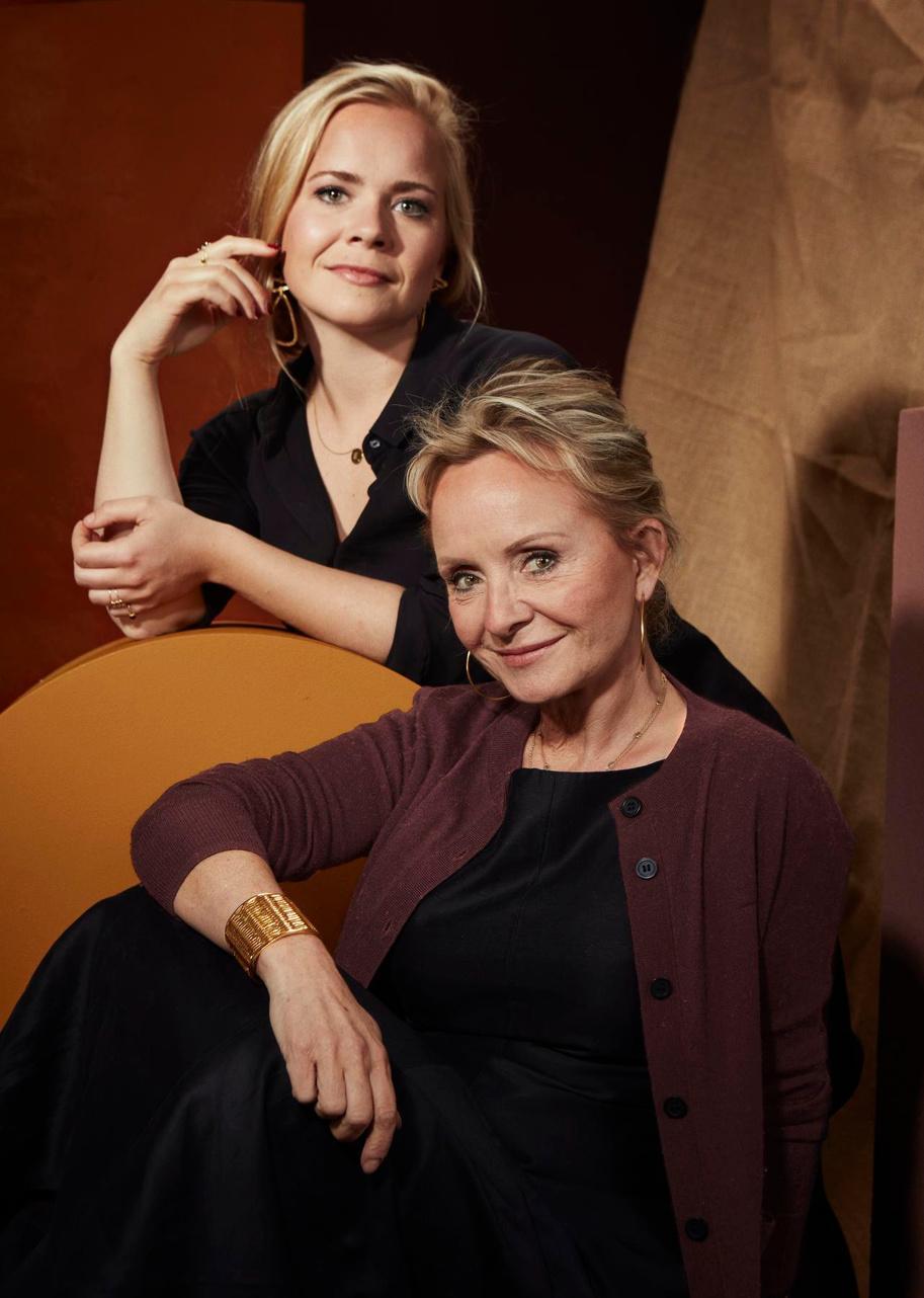 Christine Bekaert werkt samen met haar dochter Elise: