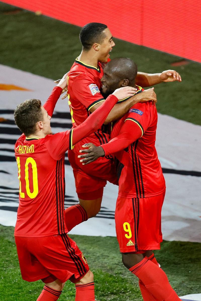 Rode Duivels naar Final Four met Italië, Frankrijk en Spanje