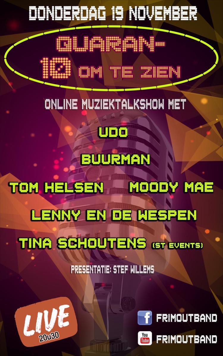 Buurman, Udo en Tom Helsen deze week publiekstrekkers in 'Quaran Tien-om-te-Zien'