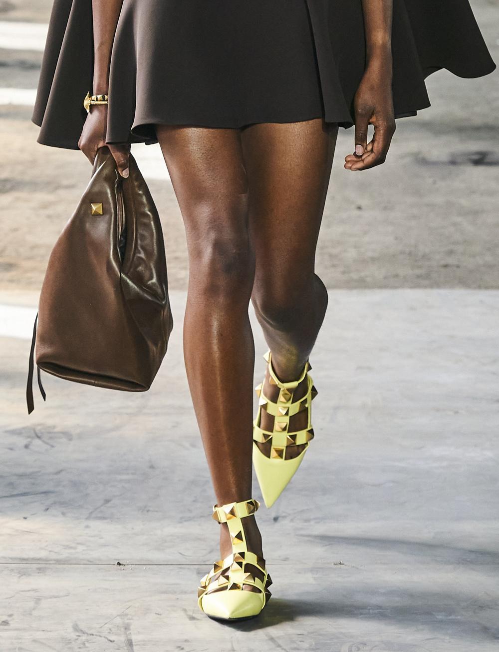 studs ballerina schoenen trends lente