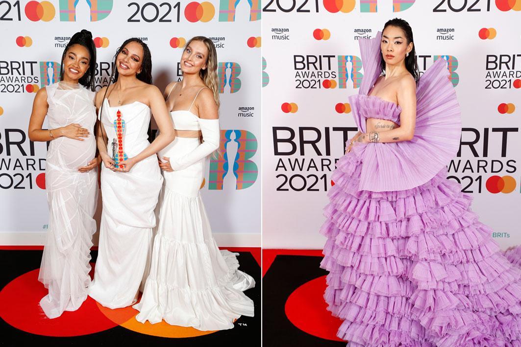 ZIEN: dit waren de meest opvallende looks op de rode loper van de BRIT Awards 2021