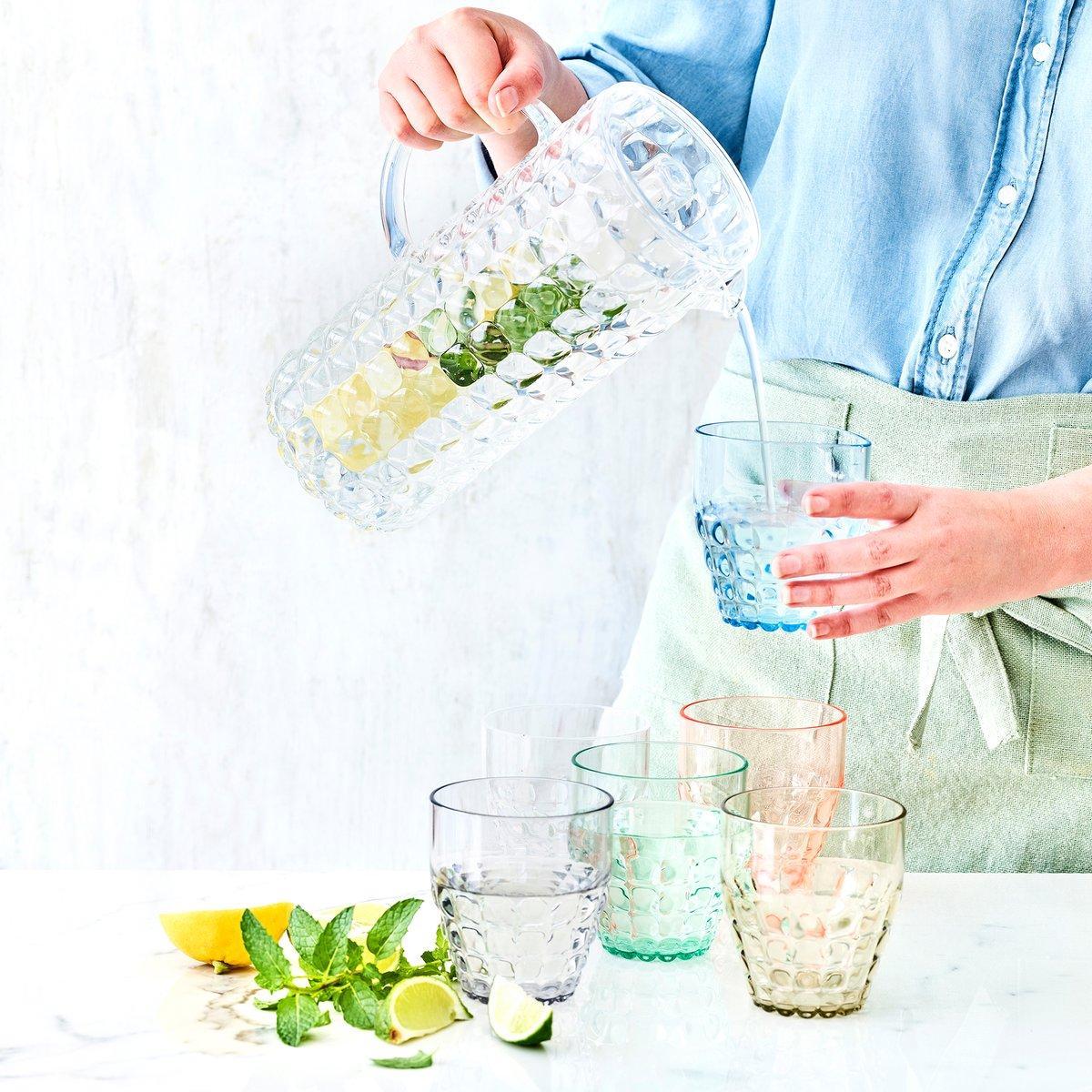 Libelle Lekker Shop karaf en onbreekbare glazen
