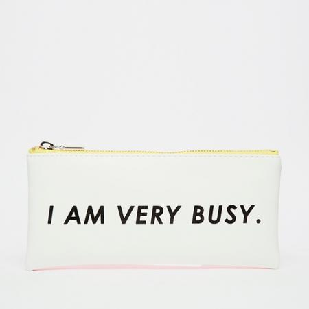Trousse «I am very busy»