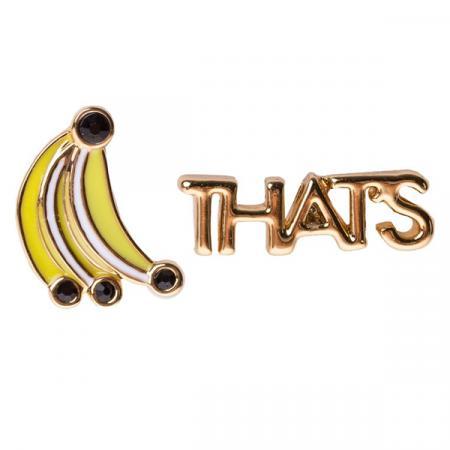 'That's bananas' oorbellen
