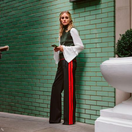 Pantalon et pull Zara