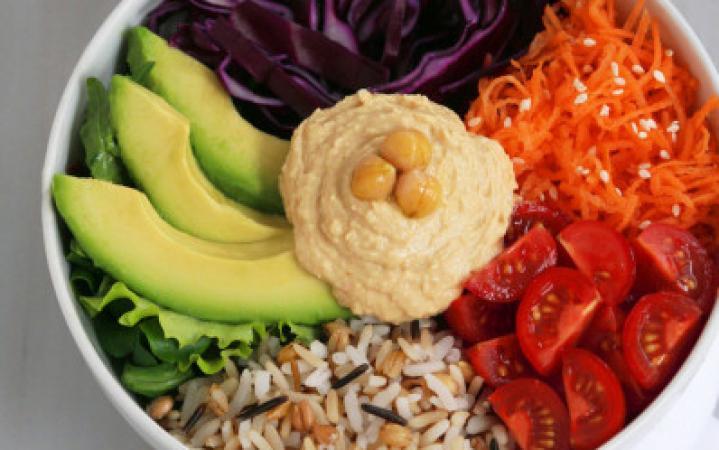 Woensdag: vegetarische rijstbowl