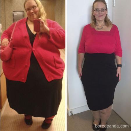 – 167 kilo op drie jaar tijd