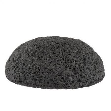 Konjac spons met houtskool