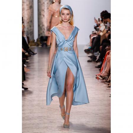 Fashion Week Haute Couture Les Robes De Princesse DElie Saab Sont