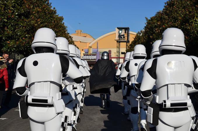 De First Order March