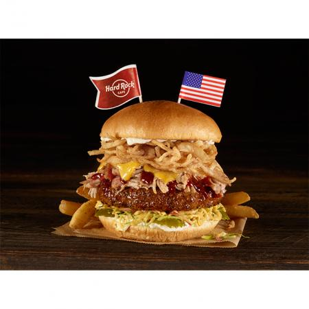 Tennessee BBQ Burger, Memphis, Tennessee