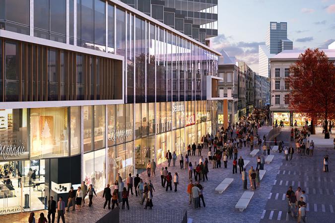 9ebb932fb91330 BRUXELLES  voilà à quoi ressemble le futur centre commercial