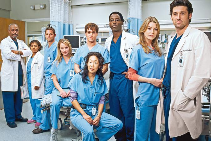 3. De originele naam van de serie was niet 'Grey's Anatomy'