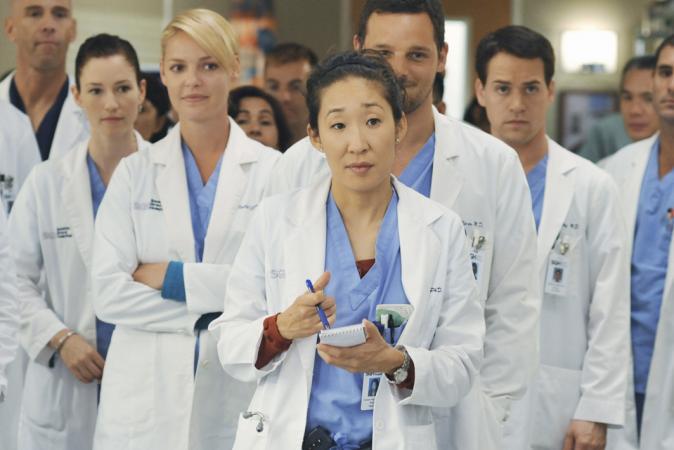 7. Sandra Oh aka Cristina Yang zou eigenlijk de rol van Miranda Bailey krijgen