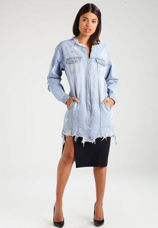 Niet zo basic jeansjas