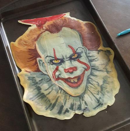De enge clown uit IT.