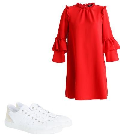 New 8 stijlvolle manieren om je rode jurk te combineren &QH31