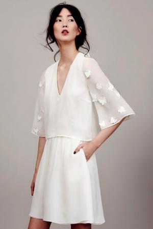 Une robe courte