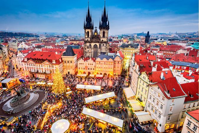 Kerstmarkt van Praag, Tsjechië