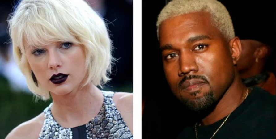 1. Kanye West vs Taylor Swift