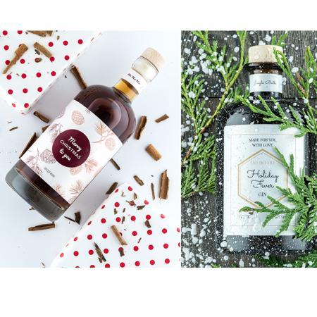 Make Your Own Spirit: rum, wodka, vermouth of gin in een gepersonaliseerde fles