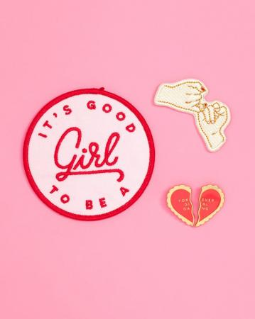 Set van drie bff-patches
