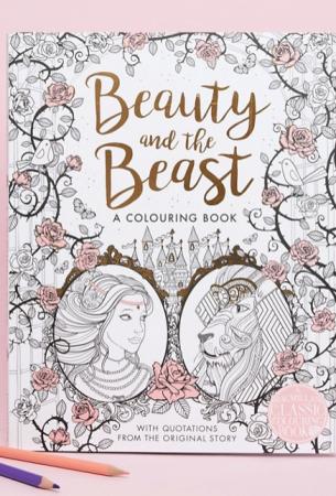 Kleurboek van 'Beauty and the Beast'