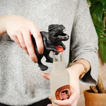 Dino flesopener