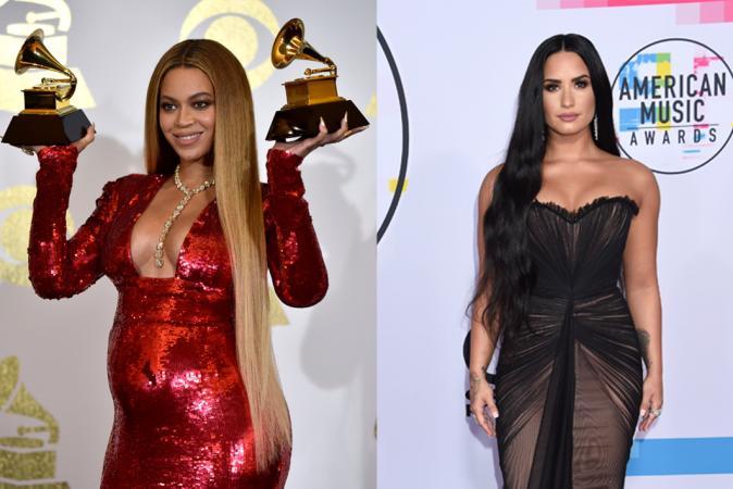 Het Rapunzelhaar van Beyoncé en Demi Lovato