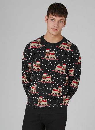 Kersttrui Mopshond.Shopping De Leukste Ugly Christmas Sweaters Voor Het Hele Gezin