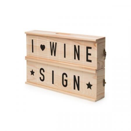 Boîte à vin