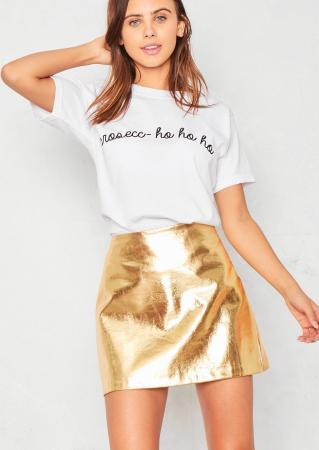 T-shirt 'Prosecc- ho ho ho'