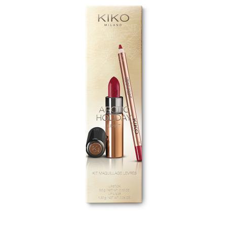 Kit maquillage pour les lèvres: rouge à lèvres + crayon