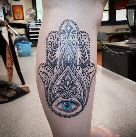 Extreem De allermooiste tattoos voor op je kuit @CV17