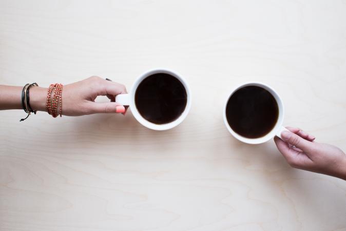 Americano = een grote kop (130 tot 150 ml) waarbij heet water aan espresso wordt toegevoegd
