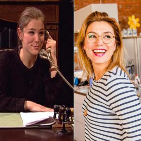 Evi Hanssen als Sofie, het nichtje van de burgemeester, in 'Samson & Gert'