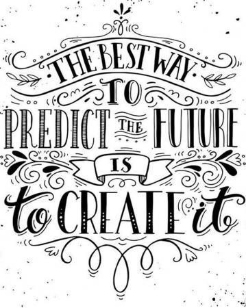 De beste manier om de toekomst te voorspellen is door hem te creëren.