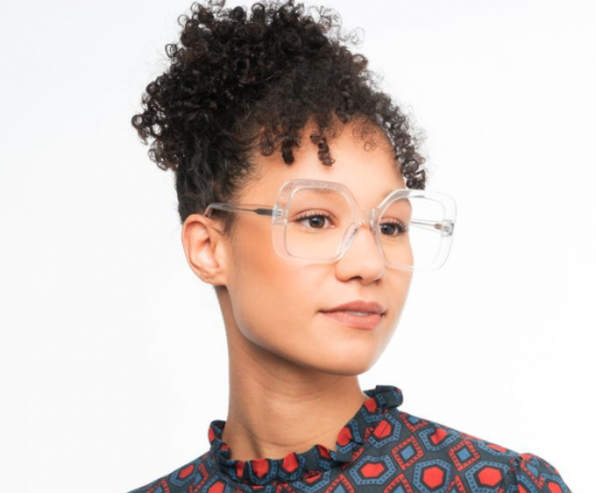 Transparante bril 'Vivienne'