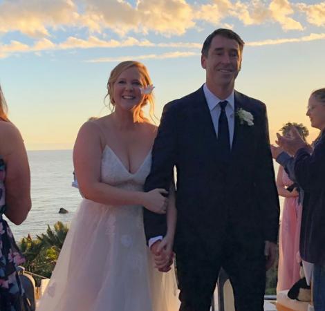 Amy Schumer (36) en Chris Fischer (37)