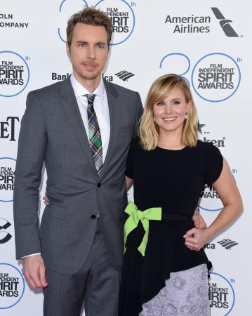 Dax Shepard (43) en Kristen Bell (37)