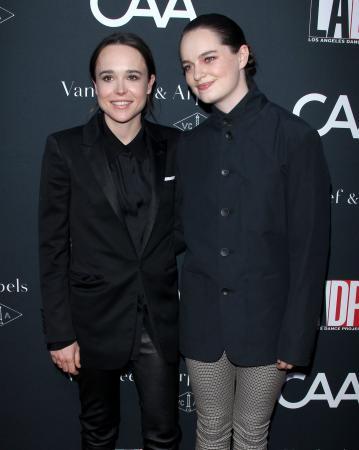 Ellen Page (30) enEmma Portner (23)